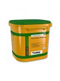 Hidroizolatie sub placari ceramice weber superflex D2