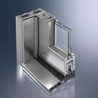 Profil din PVC pentru usi liftant-glisante de exterior -  Schüco Corona CT 70 HS
