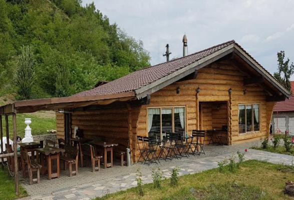 Protecția preventivă a lemnului rotund folosit la o construcție de pe Valea Oltului