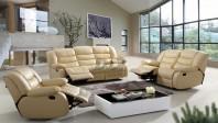 Canapele si fotolii din piele cu recliner - ELEONOR