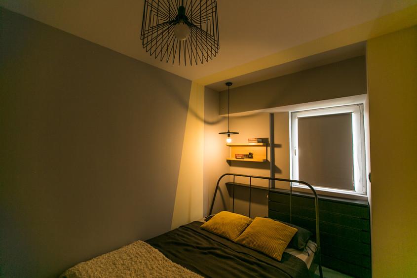 Amenajări interioare București - Transformare garsonieră în apartament de două camere
