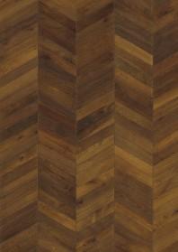 Parchet triplustratificat - Stejar Chevron Dark Brown