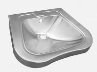 Lavoar din otel inox pentru persoane cu dizabilitati - SANELA SLUN 66