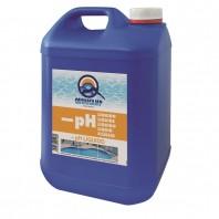 pH - (minus) lichid pentru piscine - pH minus QUIMI pH LICHID