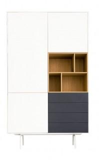 Dulap dormitor, cu patru sertare - More Grey