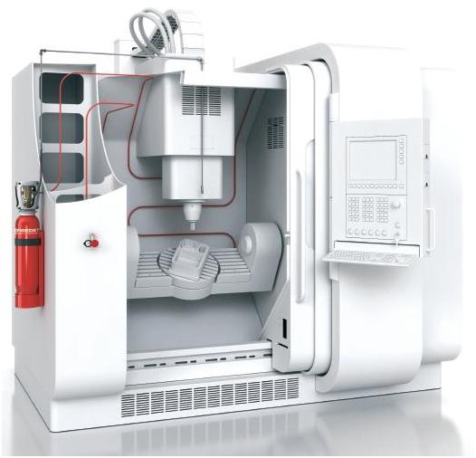 <p>Pe acelasi principiu descries anterior functioneaza si un sistem de protectie incendiu la masinile cu comanda numerica (CNC), care de obicei folosesc in procesul de aschiere/racire un lichid infamabil. </p><p><br /></p><p>       <strong>3.Detectie si stingere incendiu la motoarele de masini</strong></p>