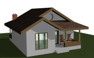 Proiect de Casa - 80 mp
