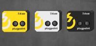 Statie de incarcare Plugpoint Wallbox 7.4kW dubla