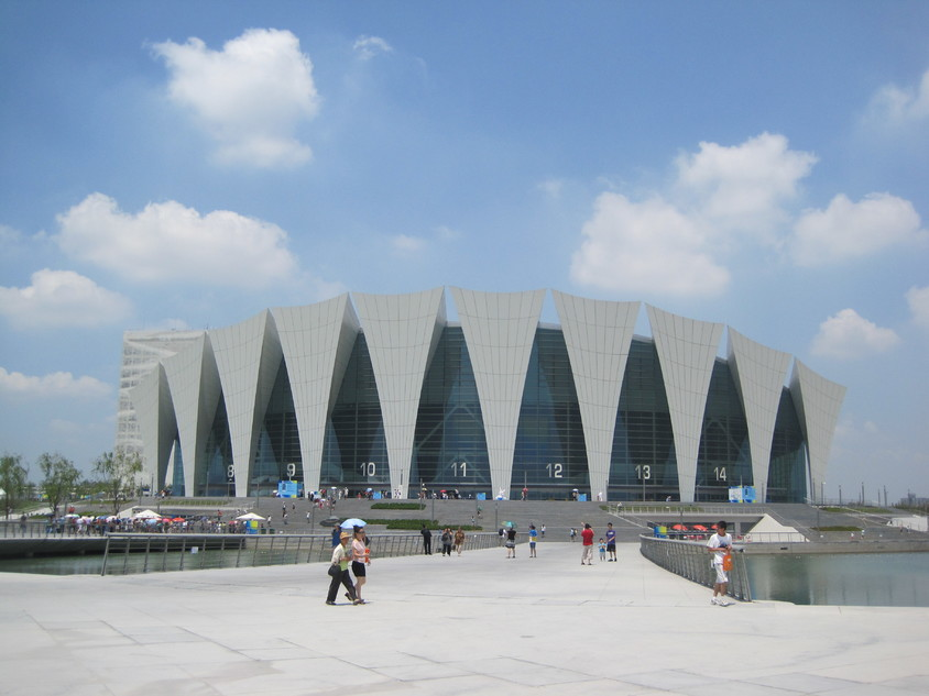 Centrul Sportiv Oriental din Shanghai - Gerkan, Marg & Partners