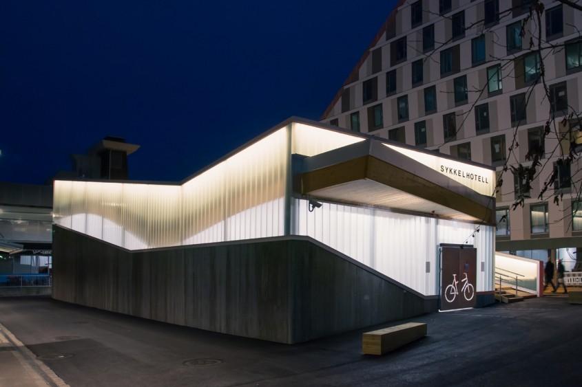 12. Hotelul pentru biciclete