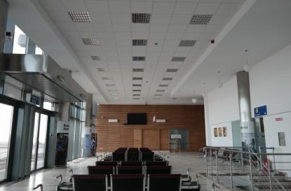 Interiorul aeroportului Stefan cel Mare  Suceava SAINT-GOBAIN CONSTRUCTION PRODUCTS ROMANIA - DIVIZIA RIGIPS