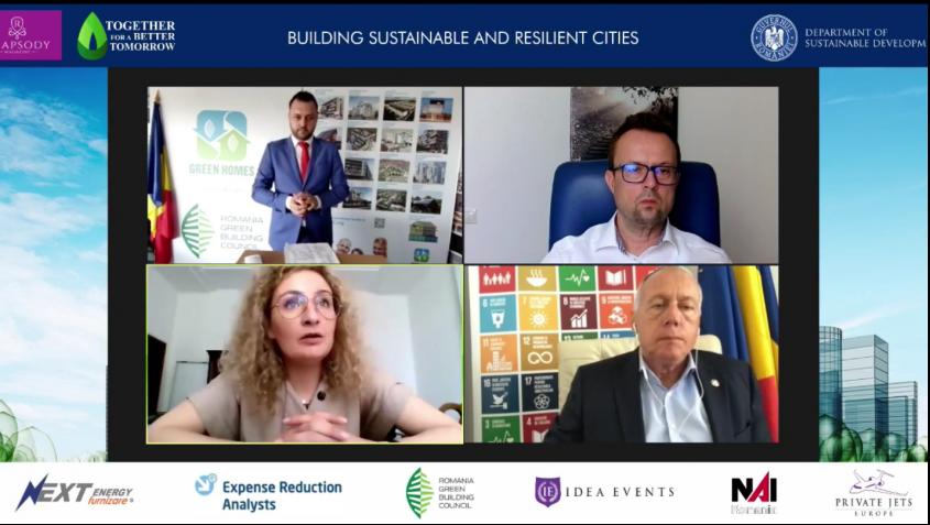 """Building Sustainable & Resilient Cities"": concluziile unei dezbateri aplicate pe tema rezilienței urbane"