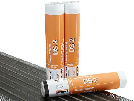 Bariera de vapori cu bitum elastomer, benzi termice pe ambele suprafete - BauderTHERM DS 2