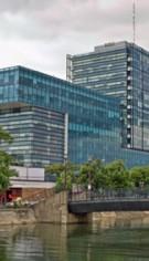 Prelucrare sticla complex de birouri Sema Park