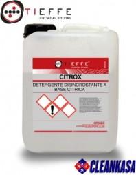 Detergent profesional detartrant pentru curatarea grupurilor sanitare, concentrat -  TIEFFE CITROX