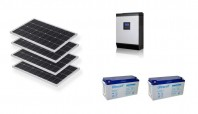 Sistem fotovoltaic Off-Grid 1kw MPPT