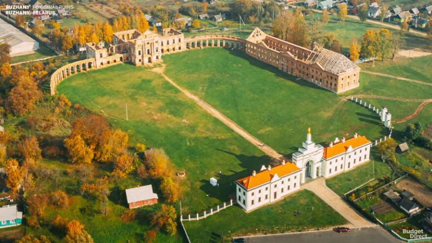 Cum arătau în vremurile de glorie şapte palate semeţe care sunt astăzi doar nişte ruine