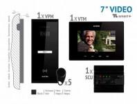 Kit video SMART+ 7'', panou aparent - VKM.P1SR.T7S4.ELB04