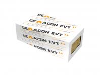 Vata bazaltica pentru izolarea termica, acustica si protectia la incendiu a fatadei cladirilor CEMACON EVT 90