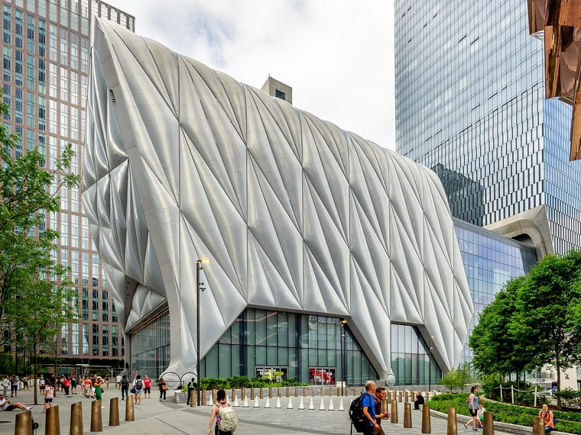 "Centrul cultural ""The Shed"" de Diller Scofidio + Renfro si David Rockwell (New York, 2019)"