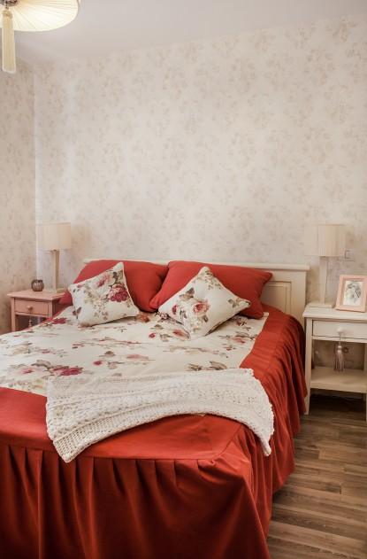 Dormitorul casei de vacanta  Izvorani Interior Online