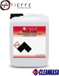 Solutie profesionala de clatire pentru masini de spalat vase si pahare - TIEFFE RINSE ACID