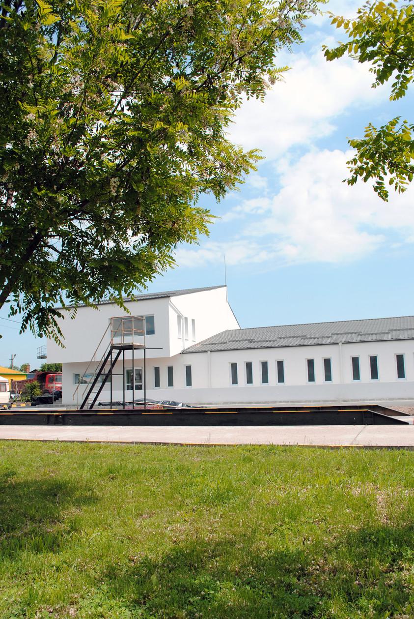 Vestiare pentru angajatii fabricii de pulberi metalice - Buzau 01.11  Buzau AsiCarhitectura