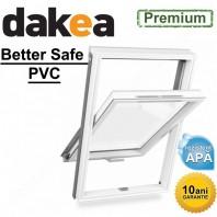 Fereastra mansarda + rama - Dakea Better Safe PVC
