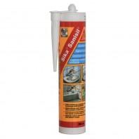 Sika® Sanisil® - Sigilant siliconic elastic monocomponent, cu intarire acetoxi cu adaos de fungicide