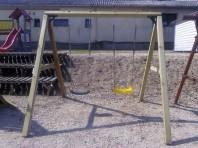 Structura lemn fara leagane