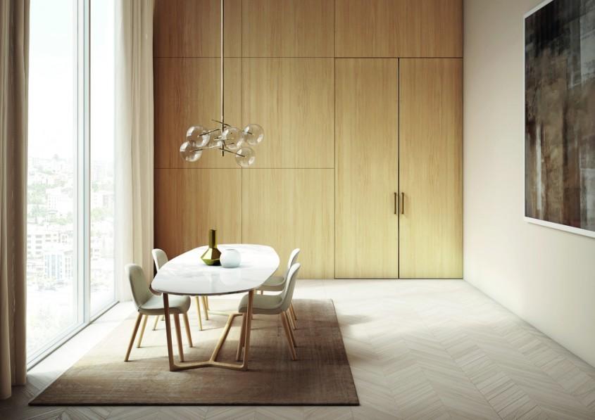 Idei interesante pentru a ascunde ușile într-un decor elegant