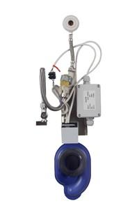 Unitate de spalare pisoare cu senzor radar pe placa de montaj - SANELA SLP 07Z