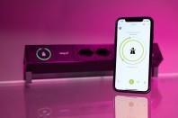 Modulul iotspot integrat intr-un panou de conexiuni