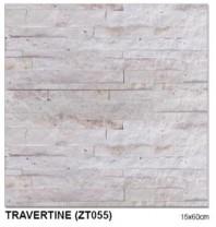 Piatra naturala TRAVERTINE (ZT055) 15×60 cm