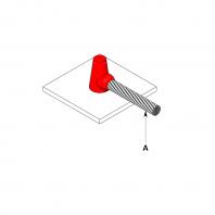 Conexiune exotermica conductor cupru cu placa de otel