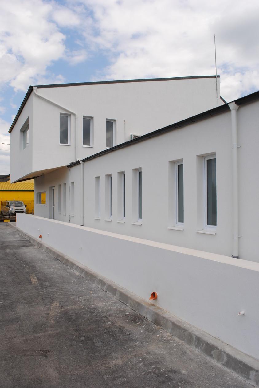 Vestiare pentru angajatii fabricii de pulberi metalice - Buzau 01.21  Buzau AsiCarhitectura