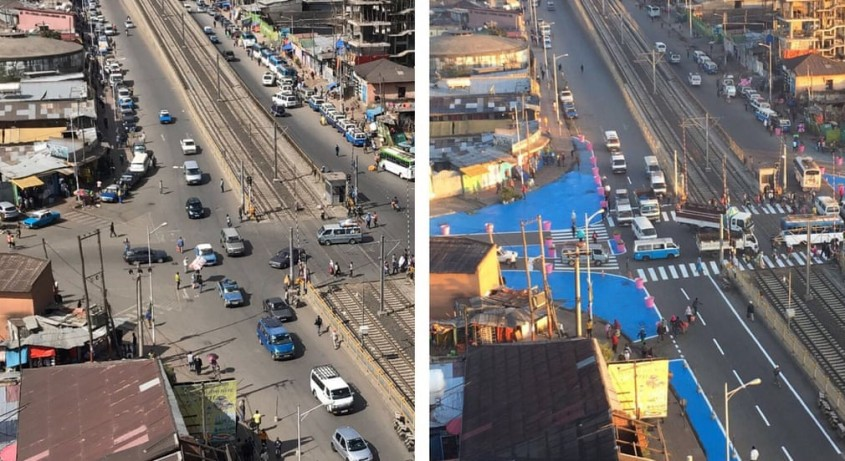 <b>Addis Ababa, Etiopia - Intersectia Sebategna</b>
