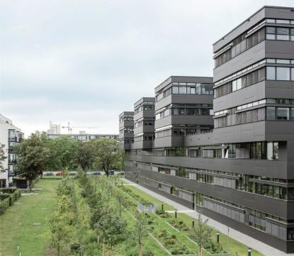 Clădire administrativă în Munchen  Leopoldstraße 250 c, Munchen, Germania EQUITONE