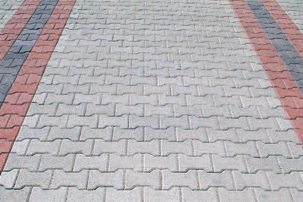 Pavaj autoblocant cu suprafata beton aparent