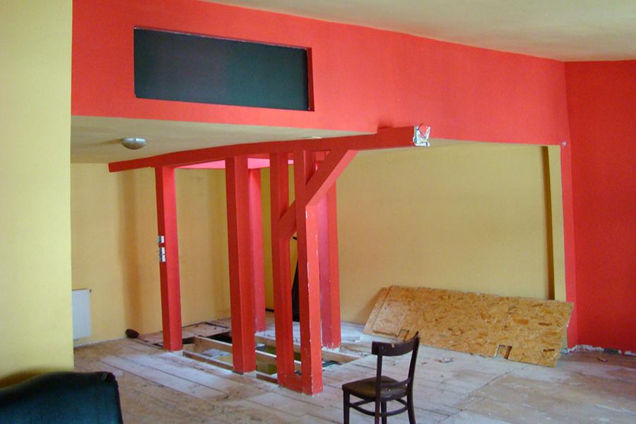 Reamenajare mansarda - birouri (buget redus) - Bucuresti AsiCarhitectura