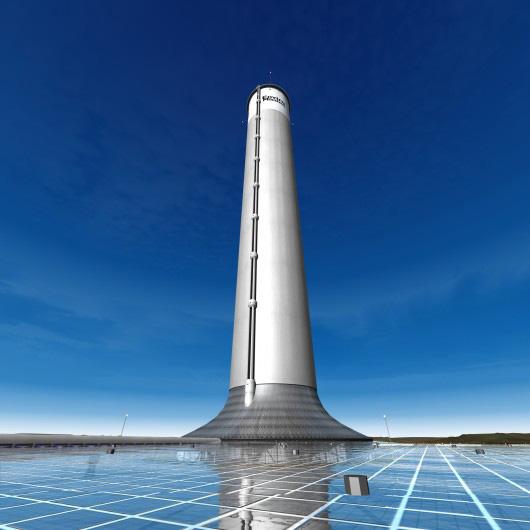 """<b>6. Cel mai mare si mai """"verde"""" (viitor) cos de fum</b> <p style=""""text-align: left;"""">Cel inalt """"cos fum"""" din lume este mai exact o propunere a companiei australiene EnviroMission pentru un turn solar cu o inaltime de 800 de metri. Aceasta ar urma sa aspire in sus aerul incalzit de Soare, iar fluxul de aer va pune in miscare turbinele eoliene aflate in interiorul structurii, care vor produce energie electrica. Va fi cel mai curat cos de fum din lume, deoarece nu exista nimic de ars. Nu este, asadar, un horn clasic, insa, cum principiul de functionare include aspirarea aerului in sus, pentru a-l degaja in atmosfera, ar putea fi considerat un cos de fum futurist. Turnul ar urma sa fie amplasat in mijlocul Arizonei, costurile proiectului ridicandu-se la aproximativ 750 milioane de dolari. Structura ar trebui sa produca suficienta energie pentru a alimenta 200.000 de locuinte din zona.</p>"""