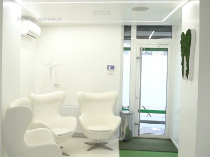 Interior cabinet stomatologic  Galati PETEA Sound