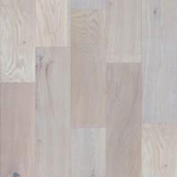 Parchet masiv stejar ABCD finisat albit, slefuit valurit manual, 400-1200x150x18, MGPHRA147 (HERSOL-OAK147)