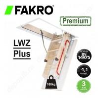 Scara din lemn pentru acces in pod - FAKRO LWZ Plus