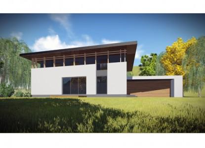 Casa P+E si garaj - 340 mp - Berceni  AsiCarhitectura
