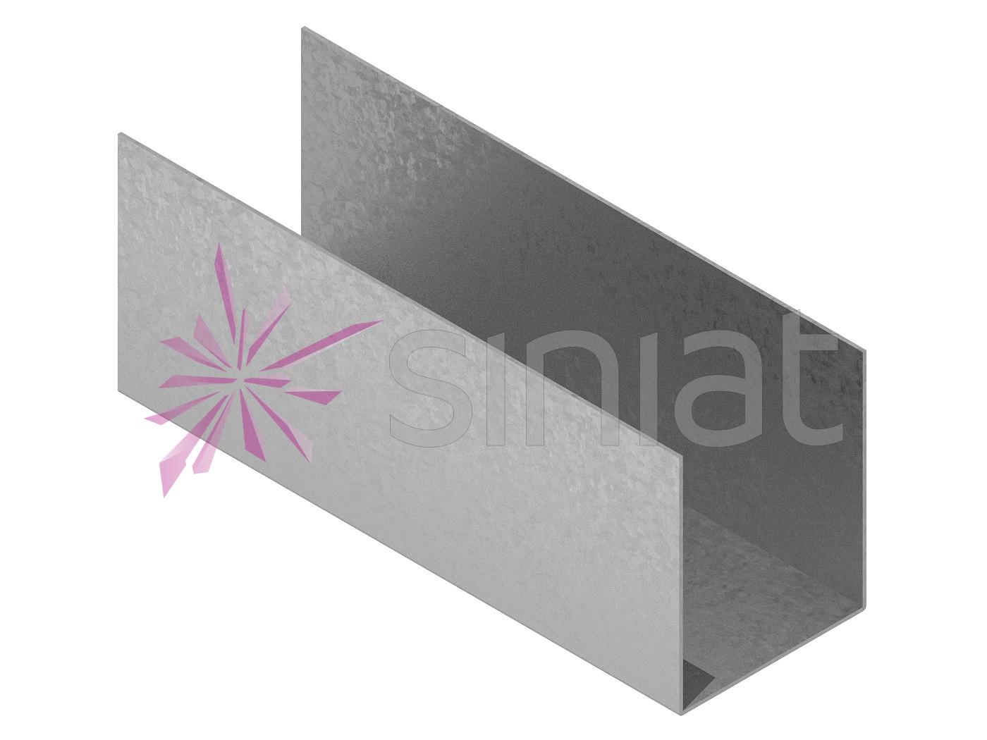 Profil NIDA Metal UW 120x100x120 1 mm