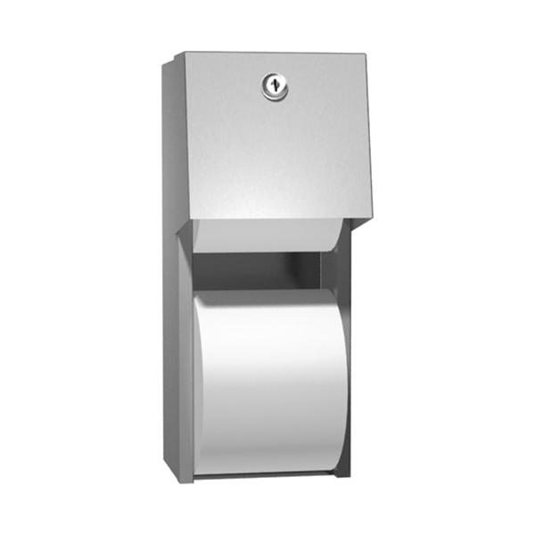 Dispenser de hartie igienica cu rola de rezerva - 0030