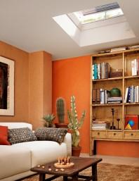 Fereastra electrica pentru acoperis terasa - VELUX CVP