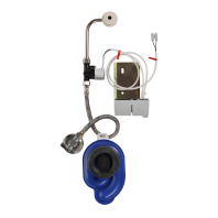 Unitate de spalare cu senzor radar pentru pisoare - SANELA SLP 35S