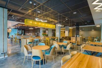 Restaurantul Hotelului ibis Styles Bucharest - mobilier Chairry  Bucuresti CHAIRRY